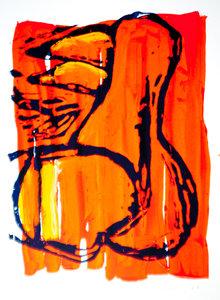 Willie Cools, Kleur-rijk, acryl, Hapaxboek