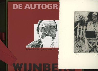 Nicolaas Wijnberg, De Autograaf, boek, ets