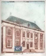 Gerrit Alberts, Koe bezoekt Mauritshuis, kleurets